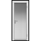 Дверь алюминиевая 1AG цвет Белый матовый