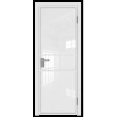 Дверь алюминиевая 2AG цвет Белый Матовый
