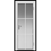 Дверь алюминиевая 3AG цвет Белый Матовый