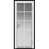 Дверь алюминиевая 4AG цвет Белый Матовый
