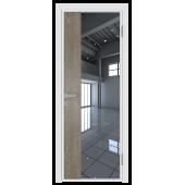 Дверь алюминиевая 7AG цвет Белый Матовый