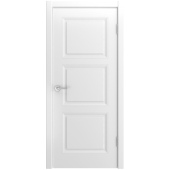 Дверь Belini 333 ДГ Белая эмаль
