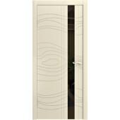 Дверь LP-15 ДО Ваниль эмаль