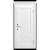 Дверь Аккорд-В0 ДГ Белая эмаль (без патины)