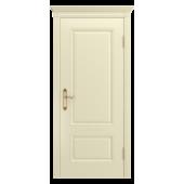 Дверь Аккорд-В0 ДГ Слоновая кость (без патины)