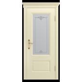 Дверь Аккорд-В0 ДО Слоновая кость (без патины)
