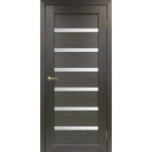 Дверь Парма 407 Стекло 12 Венге FL ЭКО-шпон
