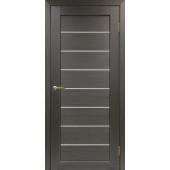 Дверь Парма 408 Стекло 12 Венге FL ЭКО-шпон